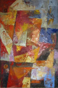 abstract 50x70cm oil on canvas 2012