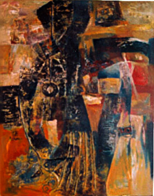 abstract 80x100cm oil ( sold )