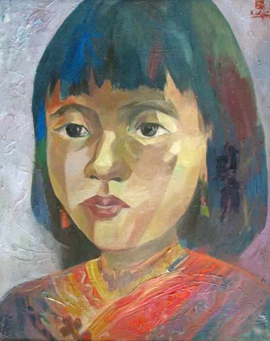 portrait 80x100cm oil on canvas 2008